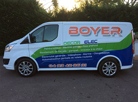 Camion Boyer Decor Elec